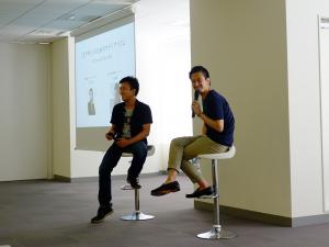 江口さんと山本さんによるセッション