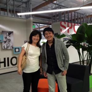 SAP UXチームの友人DeXin Shi