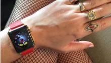 ケイティ・ペリーが身につけているApple Watch