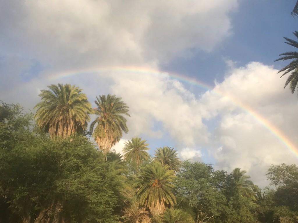 ノースショアの虹